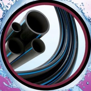 Rucika Black HDPE Pipes